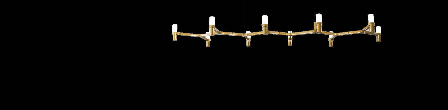 Lampes à Suspension en Or