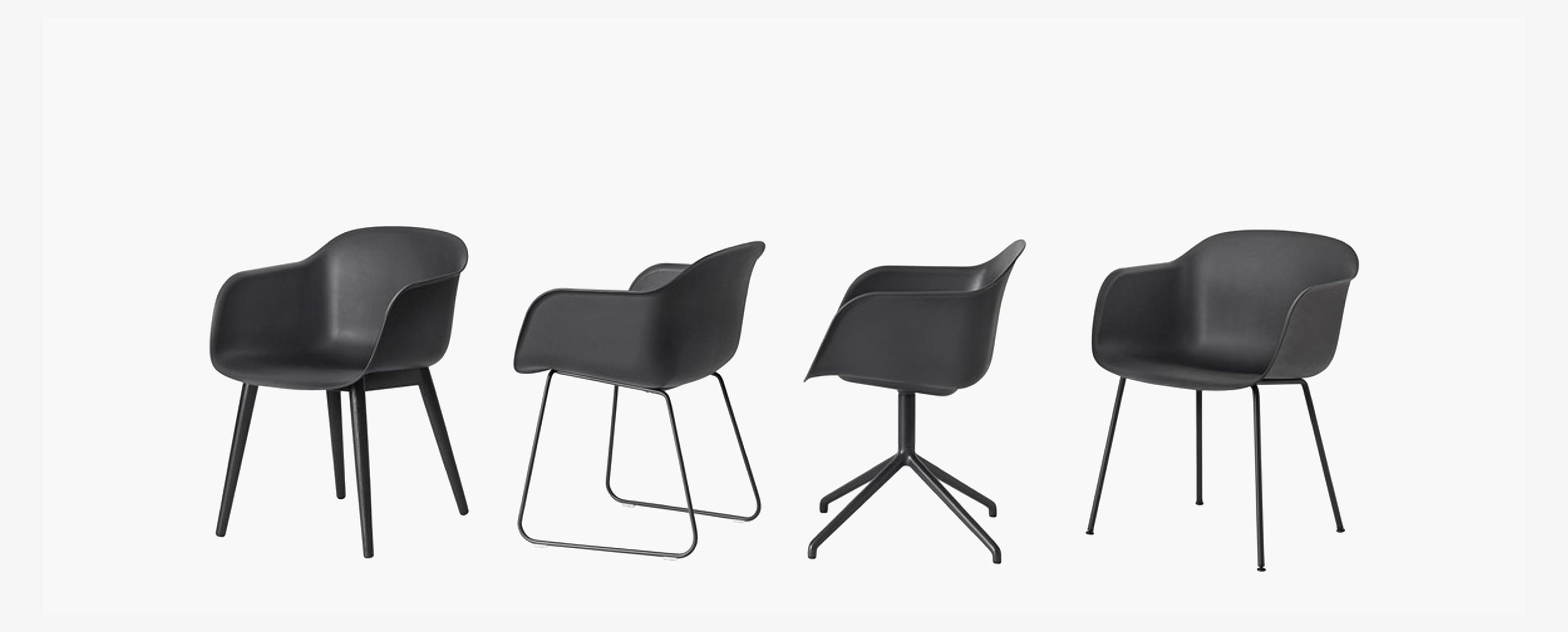 Fiber Chair Collection by Muuto