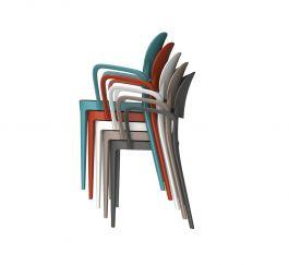 Amy Set 4 Sedie Con Braccioli Alma Design Mohd Shop