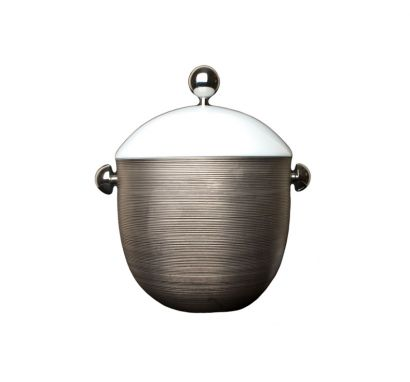 Hémisphère Platinum Soup Tureen H. 25,5 cm