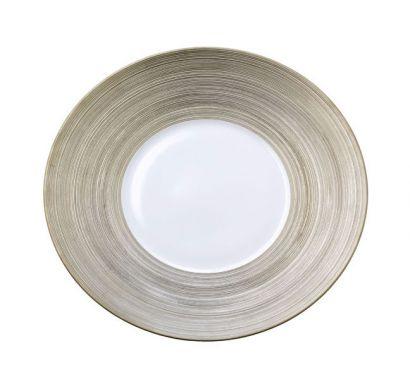 Hémisphère Platinum Presentation Plate Ø 31,5 cm