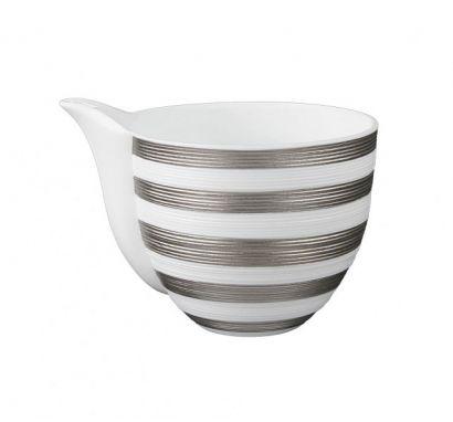 Hémisphère Platinum Stripe Milk Jug Ø 7,5 cm