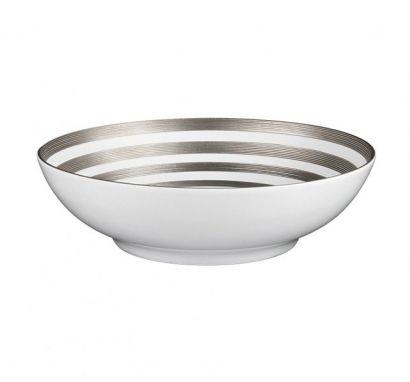 Hémisphère Platinum Stripe Salad Bowl Ø 19,5 cm