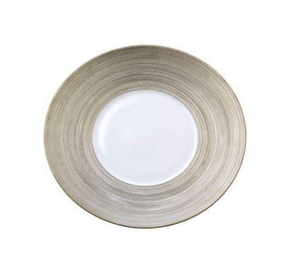 Hémisphère Platinum Plate Ø 26,5 cm