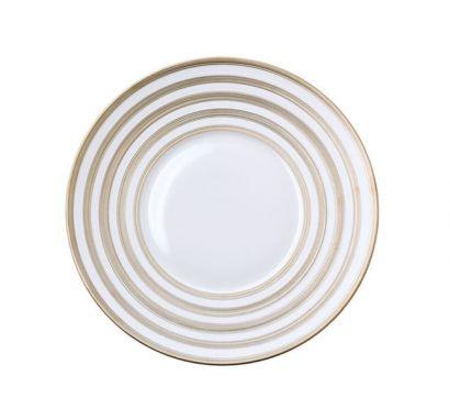 Hémisphère Platinum Stripe Plate Ø 26,5 cm