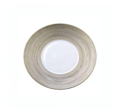 Hémisphère Platinum Dessert Plate Ø 21 cm