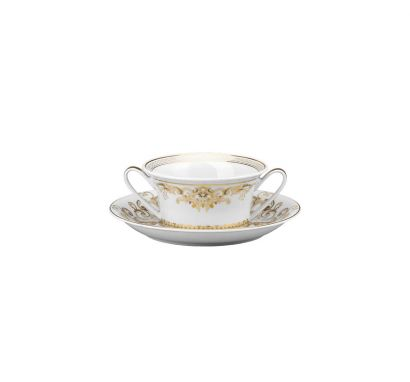 Medusa Gala Creamsoup Cup & Saucer 0,30 L