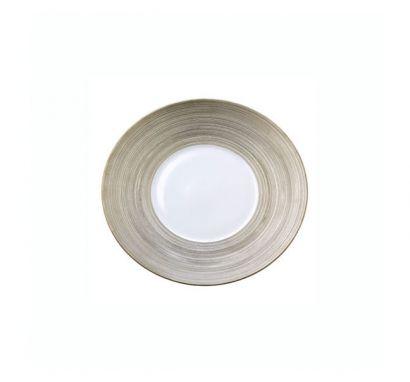 Hémisphère Platinum Bread Plate Ø 16 cm