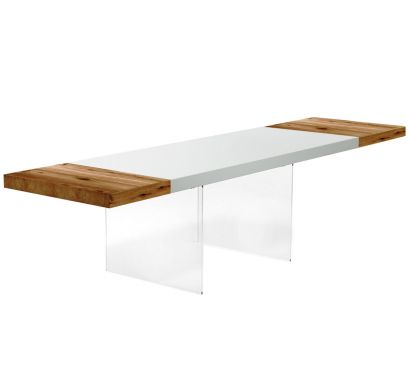 Air Extendable Table - 190x85x76 cm - Lacquered
