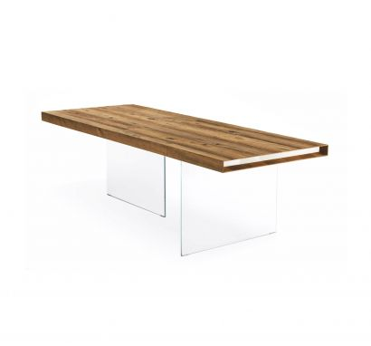 Table Air Wildwood 220 - Natural - Retracting Heads