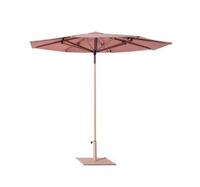 Sunshade Ombrellone - Alluminio Ø270 - Feldspar/Dusk Pink