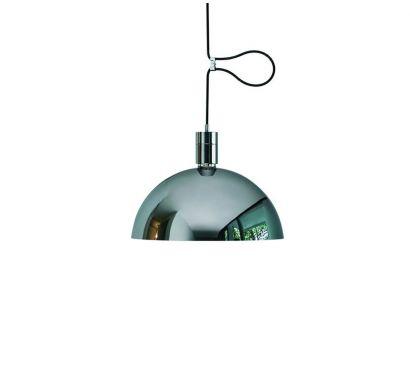 as41z lampada soffitto nemo cromo
