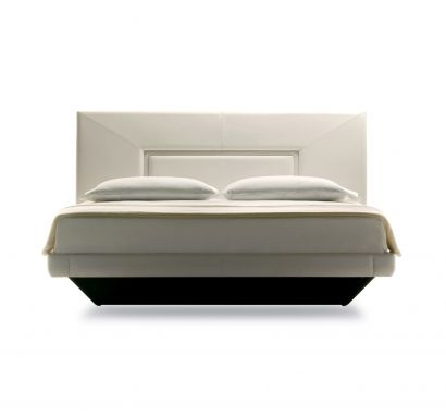 Aurora Uno Bed - Leather Back