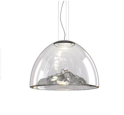 Mountain View Suspension Lamp