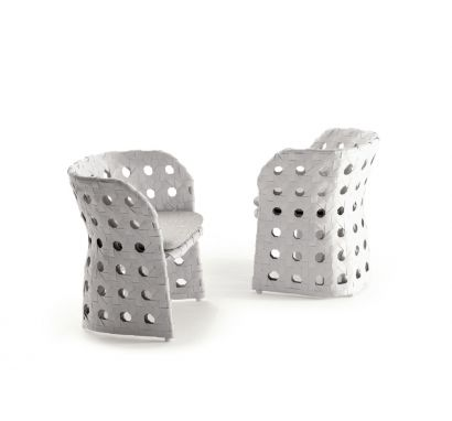 Canasta White Chair
