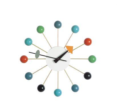 Ball Clock Multicolor