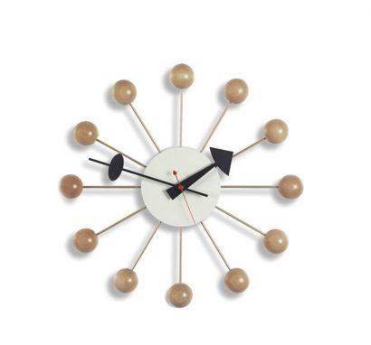 Ball Clock Naturale