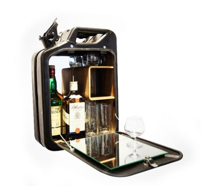 Bar Cabinet Danish Fuel - Mobile Bar
