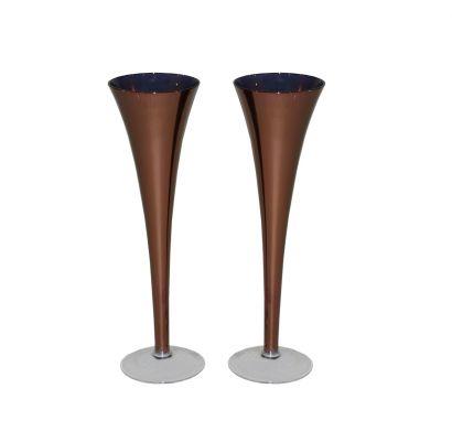 Orsini - 4 Champagne Flutes Copper