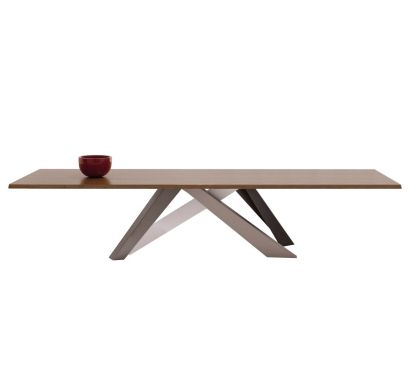 Big Table - Top Noce Canaletto L.220