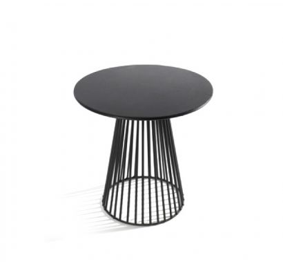 Bistrot Small table Ø 40 Black
