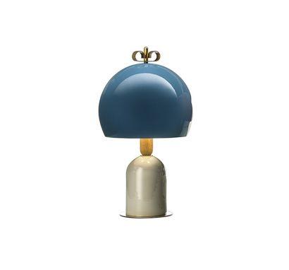Bon Ton 3/4 Sphere Table Lamp