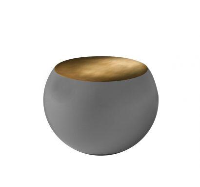 Bongo Coffee Table - TB2 Brass / Matt Stone