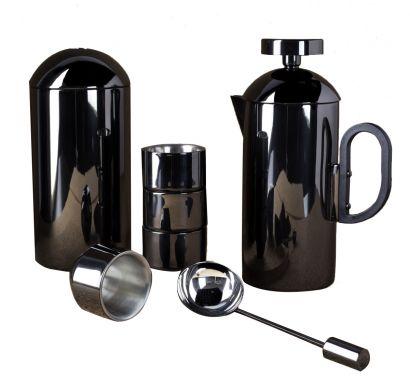 Brew Cafetiere Giftset Black - Servizio da caffè
