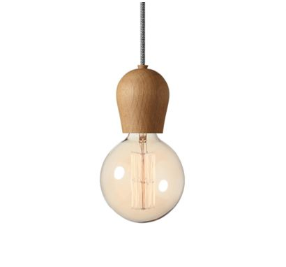 Bright Sprout Oiled Suspension Lamp