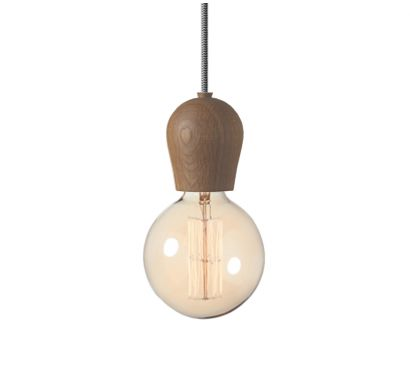 Bright Sprout Smoked Suspension Lamp