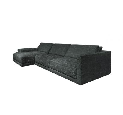 Poliform  Bristol Sofa - Fabric Olimpia 111 Castagna