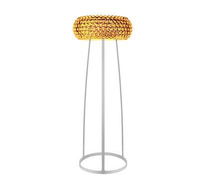 Caboche Medium Floor Lamp Gold