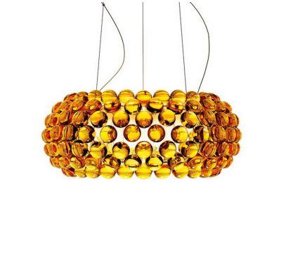 Caboche Suspension Medium Gold