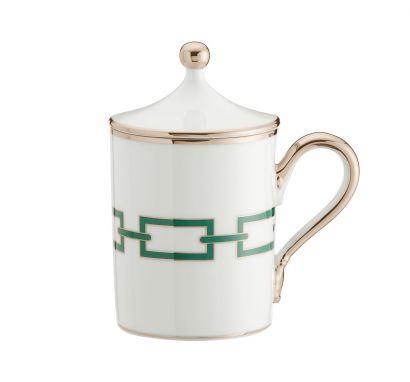 Catene Smeraldo Mug with Cover 400 cl