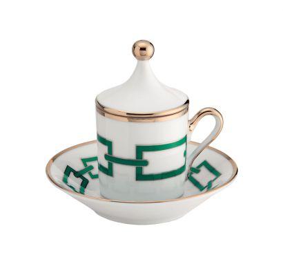 Catene Smeraldo Coffee Set of 2 pcs
