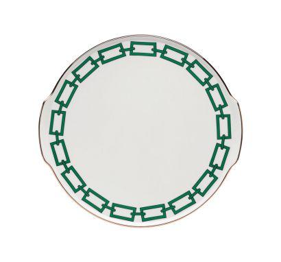 Catene Smeraldo Cake Plate Ø 31 cm