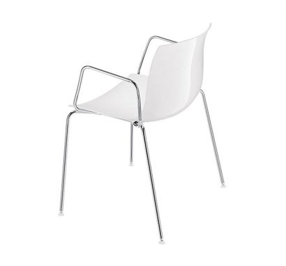 Catifa 46 Chair - Armrests One Color  / Base CRO