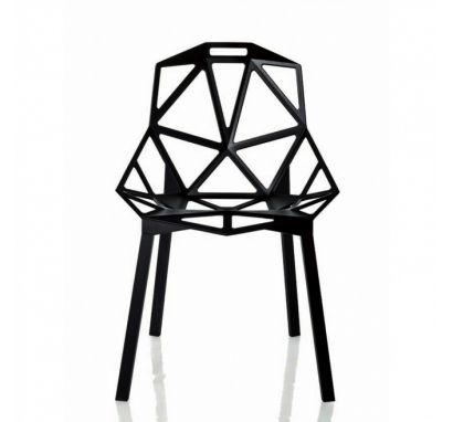 Chair One - Sedia Nero
