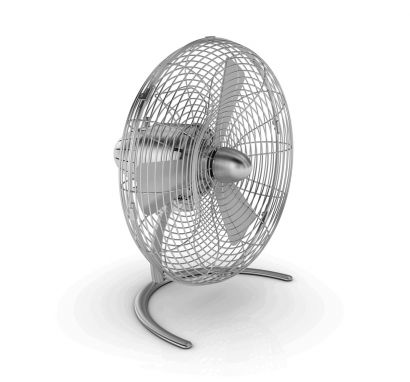 Charly Floor Ventilatore - Alluminio