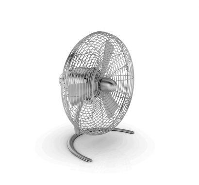 Charly Little Ventilatore - Alluminio