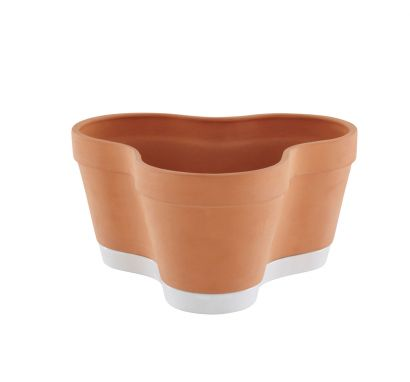 Clover Pot Vaso in terracotta