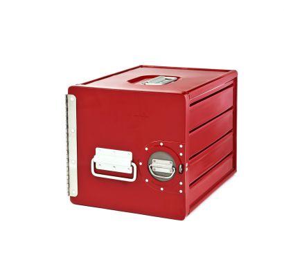 Cube Contenitore Rosso RAL 3003