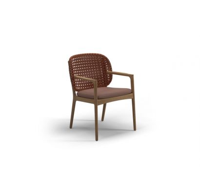 Gloster - Kay Dining Chair with Arms