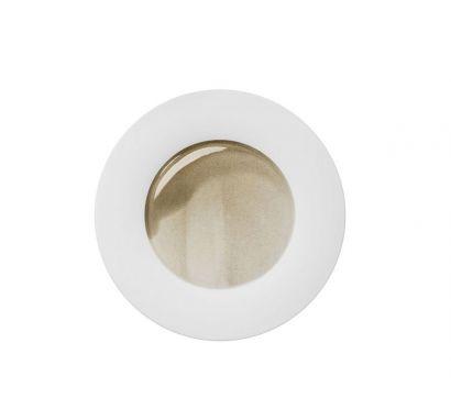 Silent Brass Dinner Plate