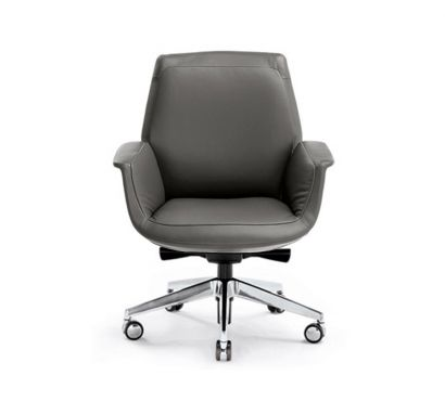 Downtown Managerial Armchair - Leather SC 26 Topo