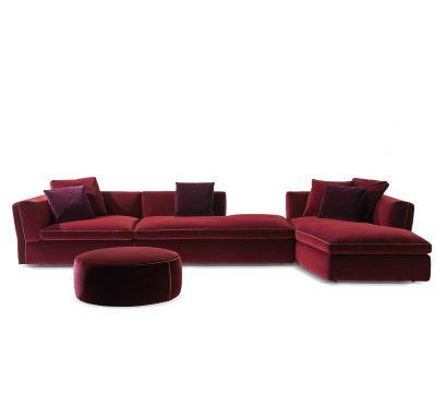 291 Dress-Up! Sofa + Pouf - Ortigia Vino