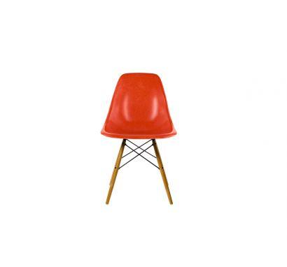 Eames Fiberglass Side Chair DSW Golden Maple - Sedia