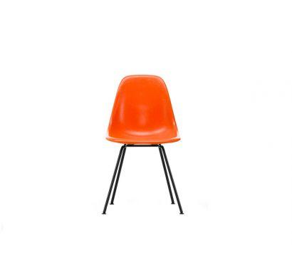 Eames Fiberglass Side Chair DSX - Sedia Basic Dark