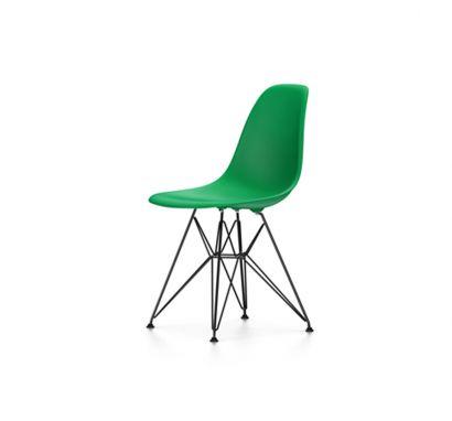 Eames Plastic Chair DSR - Sedia Basamento Nero