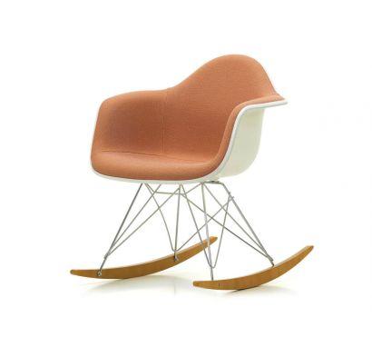 Eames Plastic Armchair RAR - Poltrona a Dondolo - Crema